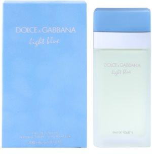 Dolce & Gabbana Light Blue toaletní voda pro ženy 200 ml