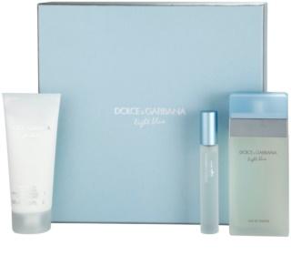 Dolce & Gabbana Light Blue coffret cadeau IX.