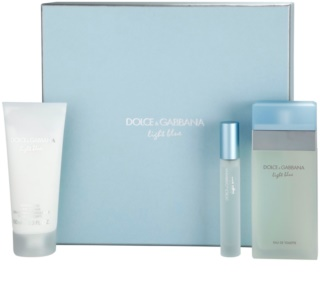 Dolce & Gabbana Light Blue Gift Set  IX.