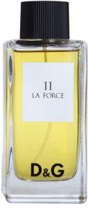 Dolce & Gabbana D&G Anthology La Force 11 toaletní voda tester pro muže 100 ml