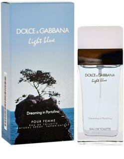 Dolce & Gabbana Light Blue Dreaming in Portofino eau de toilette per donna 100 ml