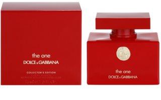 Dolce & Gabbana The One Collector's Edition Eau de Parfum voor Vrouwen  75 ml