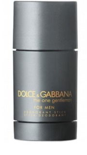 Dolce & Gabbana The One Gentleman desodorante en barra para hombre 75 ml