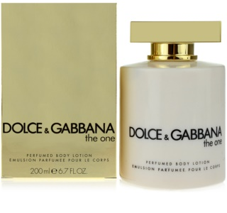 Dolce & Gabbana The One lotion corps pour femme 200 ml
