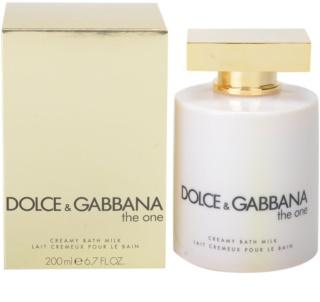 Dolce & Gabbana The One krem do kąpieli dla kobiet 200 ml (mleczko do kąpieli)