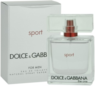 Dolce & Gabbana The One Sport for Men eau de toilette férfiaknak 100 ml