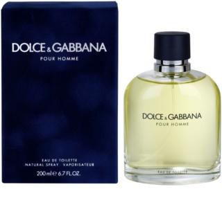 Dolce & Gabbana Pour Homme toaletní voda pro muže 200 ml