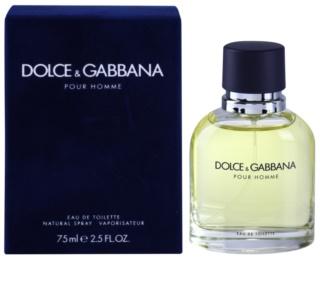 Dolce & Gabbana Pour Homme Eau de Toilette für Herren 75 ml