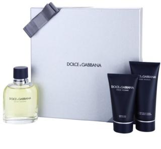 Dolce & Gabbana Pour Homme darilni set IV.