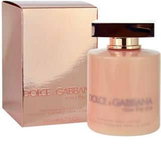 Dolce & Gabbana Rose The One Körperlotion für Damen 200 ml