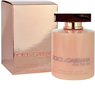 Dolce & Gabbana Rose The One telové mlieko pre ženy 200 ml