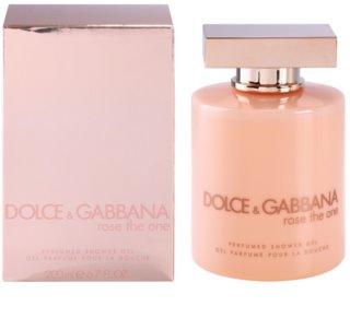 Dolce & Gabbana Rose The One sprchový gél pre ženy 200 ml