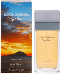 Dolce & Gabbana Light Blue Sunset in Salina eau de toilette pentru femei 100 ml