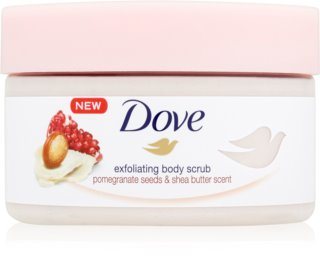 Dove Exfoliating Body Scrub Pomegranate Seeds & Shea Butter exfoliante corporal