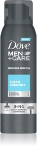 Dove Men+Care Clean Comfort Shower Foam 3 in 1