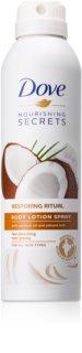 Dove Nourishing Secrets Restoring Ritual spray lotiune de corp