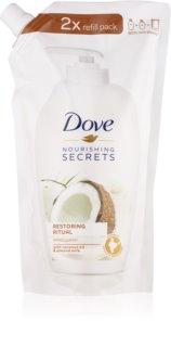 Dove Nourishing Secrets Restoring Ritual sabonete líquido delicado para mãos recarga
