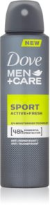 Dove Men+Care Sport Active+Fresh spray anti-perspirant pentru barbati