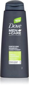Dove Men+Care Fresh Clean Shampoo en Conditioner 2in1  voor Mannen