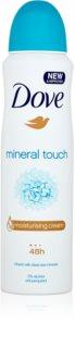 Dove Mineral Touch antitranspirante en spray