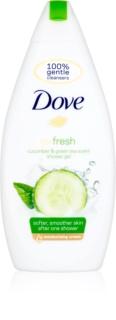 Dove Go Fresh Fresh Touch gel de banho nutritivo