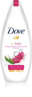 Dove Go Fresh Pomegranate & Lemon Verbena gel de ducha nutritivo