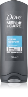 Dove Men+Care Clean Comfort gel de duche