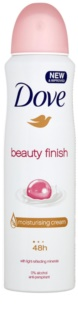 Dove Beauty Finish antiperspirant v spreji 48h