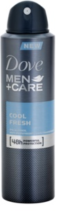 Dove Men+Care Cool Fresh déodorant anti-transpirant en spray 48h