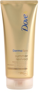 Dove DermaSpa Summer Revived γάλα με χρώμα