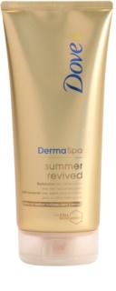 Dove DermaSpa Summer Revived lozione abbronzante con effetto di abbronzatura leggera