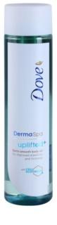 Dove DermaSpa Uplifted+ óleo corporal suave para dar firmeza à pele