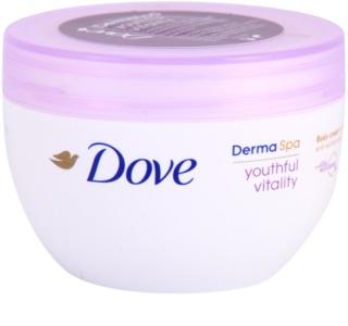 Dove DermaSpa Youthful Vitality omlazující tělový krém pro pružnou pokožku