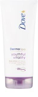 Dove DermaSpa Youthful Vitality omlazující tělové mléko pro pružnou pokožku