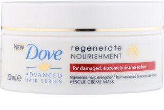 Dove Advanced Hair Series Regenerate Nourishment máscara regeneradora para cabelo muito danificado