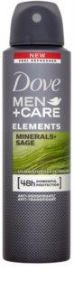 Dove Men+Care Elements déodorant anti-transpirant en spray 48h