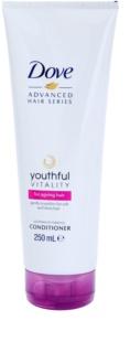 Dove Advanced Hair Series Youthful Vitality  condicionador para cabelo baço e sem brilho