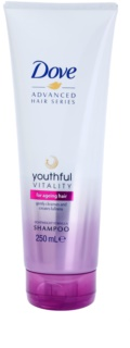 Dove Advanced Hair Series Youthful Vitality  Shampoo For Fatigue Hair Without Gloss