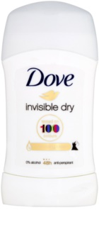 Dove Invisible Dry antitranspirante sólido anti-manchas blancas 48h