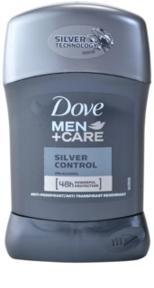 Dove Men+Care Silver Control antitranspirante sólido 48 h