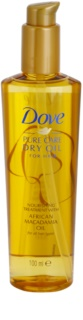 Dove Advanced Hair Series Pure Care Dry Oil olio nutriente per capelli