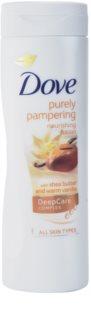 Dove Purely Pampering Shea Butter vyživující tělové mléko