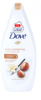 Dove Purely Pampering Shea Butter gel de banho nutritivo