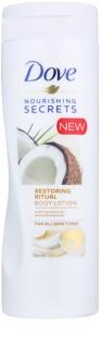 Dove Nourishing Secrets Restoring Ritual leite corporal