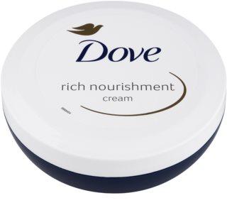 Dove Rich Nourishment nährende Körpercreme mit feuchtigkeitsspendender Wirkung