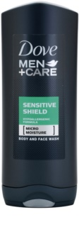 Dove Men+Care Sensitive Shield gel de douche visage et corps