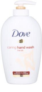 Dove Silk Fine течен сапун с дозатор