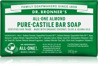 Dr. Bronner's Almond mydło w kostce