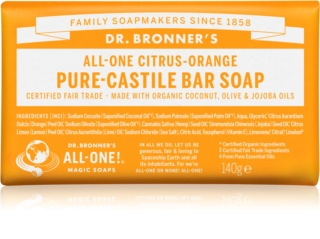 Dr. Bronner's Citrus & Orange sapun