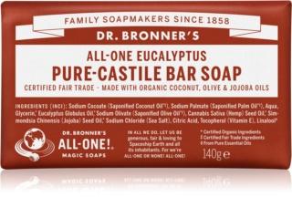Dr. Bronner's Eucalyptus sabonete sólido